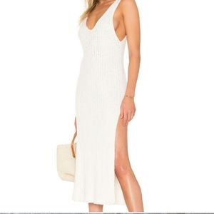 Free People Emmy Ribbed Dress Knit Small